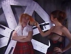 Young redhead recieves a pleasurable scourging