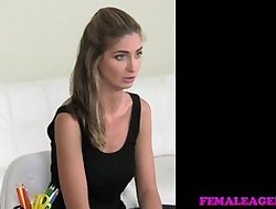 FemaleAgent - Doll loses sapphist chastity