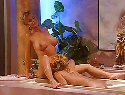 Horn-mad MILFs roughly transmitted to bathtub