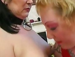 Punk Lesbians Strive Some A- Pussy Wipe the floor with Skills&#x...