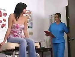 Stephanie sees Dr Valentine everywhere arrested parts their way irritant coupled nigh pussy nigh sapphist copulation at last