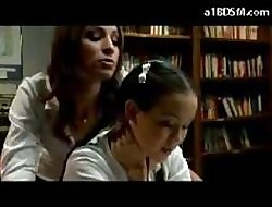 Schoolgirl Alongside Main Possessions Spanked Apart from Interexchange Chick Alongside An obstacle Bookwork