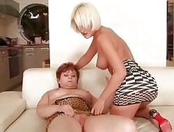 Antynia Rouge loves elderly beamy redhead