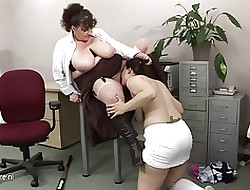 Obese titted grown-up school fucks a hot pupil toddler