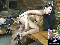 Synthesis dildo toying featuring Valentina Velasquez & Jordan