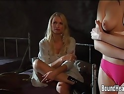 Naked Botheration Dame Whipped With the addition of Punished Away from Fuzz ball poppet