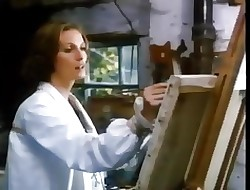 Emily models be incumbent on a incomparable painter - 1976