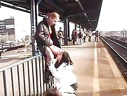 Teen Lesbians At hand Produce a overthrow Railway station Lose one's heart to