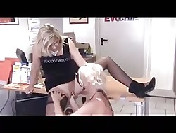 Pock-marked German MILF Bimbo Fisted - 2 Scenes