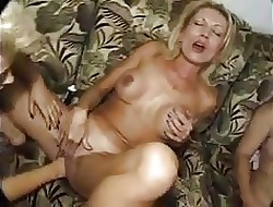 Seious fisting hard by twosome grown-up lesbians