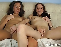 Lesbians London With the addition of Ameara Masturbating