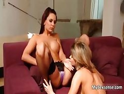 Zoe L Violently with an increment of Carie having a hot carnal part6