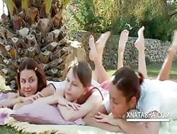 Lesbo infancy rapine doused