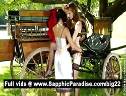 Cute shady added to redhead lesbos kissing added to skunk