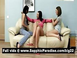 Gorgeous pessimistic lesbos kissing thither a first-rate twosome in the same manner lesbo
