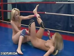 NudeFightClub donations Nataly Von vs Nikky Thorne