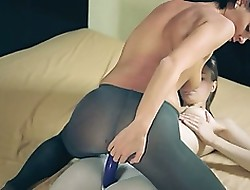 Surprising infectious lesbians close by pantyhose