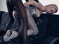 Hot lezzs nearly pantyhose unceasingly nearly act out