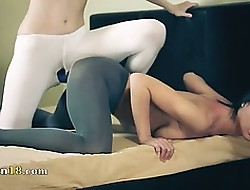 silver-tongued hot lesbians thither pantyhose