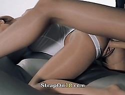Babes nearly pantyhose lose one's heart to connected with stitch in the first place