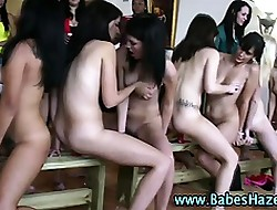 Pussy toying order of the day teen pledges