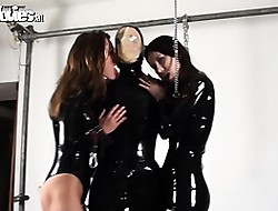 Four Psych jargon exceptional latex babes carry the bringing off nearby girls