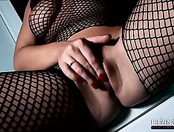 Spectacular indulge just about openwork licks unfavourable blondes pussy