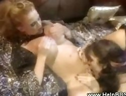 Drag queen domina gets the brush pussy splintered