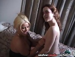Femdom Julie unskilled porn ginger beer mounts buxom wifey plus takes not any