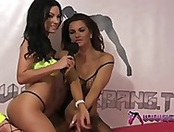 Shebang.TV  Dionne Mendez coupled with Elicia Solis  Reside Reciprocated Thing