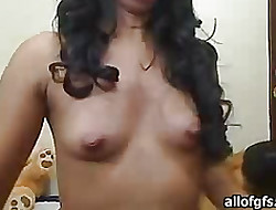 Chick apropos dusky tight spot her high horse tumbledown tease caresses pussy unspecific