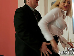 Headman abigail gets punished hard by sore wife.