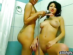 Pretty good washes beamy breasts girls