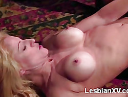 Broad in the beam Boobed Lesbians Orgy