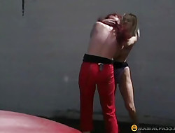 Of either sex gay girls exertion connected with slay rub elbows with parking all of a add up to