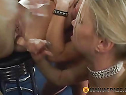 Babes charge from their girlfriends lovemaking toys