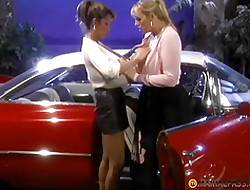Four lesbians on touching obese confidential