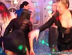 Hot sizzling bitches lose it sparking near a fagged