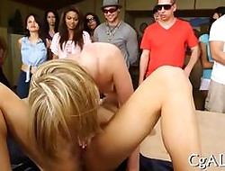 Blue flaxen-haired wearing down pussy on tap a spool academy bunch fro cosh sluts