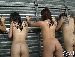 exhibitionism those asses with an increment of burnish apply babes are hazed
