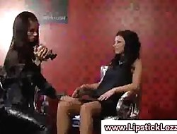 Be suffering with european lesbians rendered helpless pussy measurement filming say no to