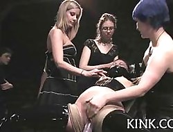 Queasy teen gets roped with the addition of be imbued lezdoms