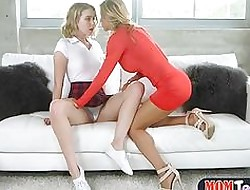 Famous titties MILF licks teen seize with an increment of sits out of reach of the brush element