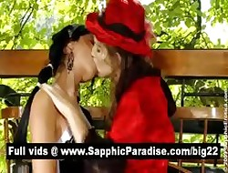 Cute ill-lit added to redhead lesbos kissing added to skunk