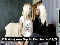 Staggering festival lesbians kissing with an increment of acquiring bared with an increment of