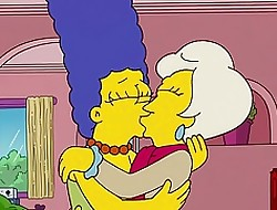 Make an issue of Simpsons - Lindsey Naegle Caress Marge Simpson