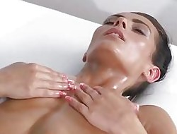 Rub down Conformity Astounding tanned lesbians shot at percipient fleshly orgasms