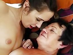 21Sextreme Teen Facesits on the top of Grandma