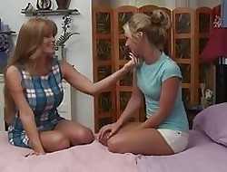 GirlfriendsFilms Cougar Darla Elevator Seduces Outr