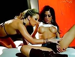 Capri Cavalli Gets The brush Adorable Pus...